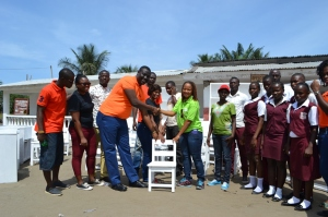PwC donating the furniture